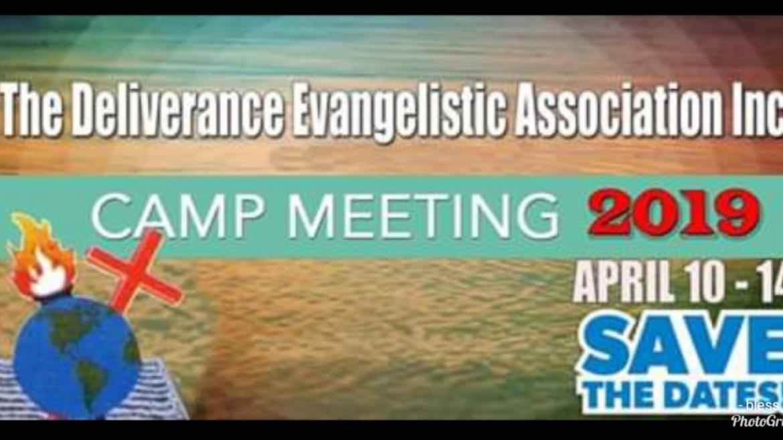Prayer for Camp Meeting 2019- Bishop H.V. Blair